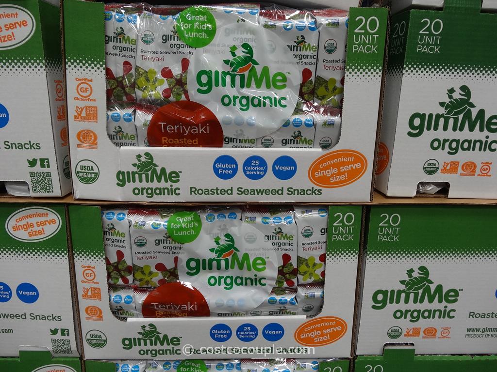 Gimme Organic Teriyaki Seaweed Costco 1