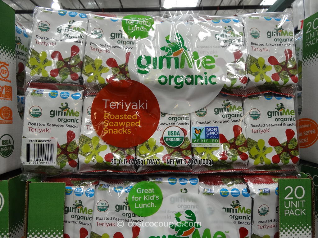 Gimme Organic Teriyaki Seaweed