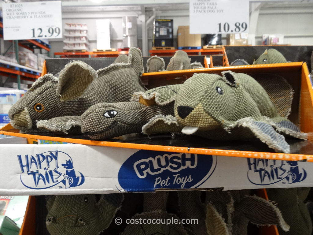 Happy Tails Tough Pals Pet Toys Costco 1