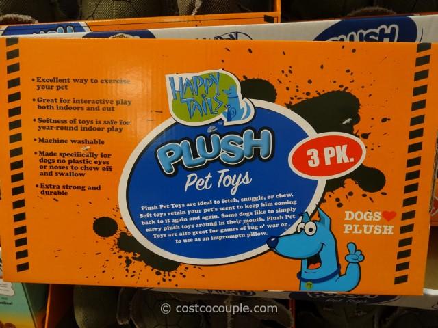 Happy Tails Tough Pals Pet Toys Costco 3