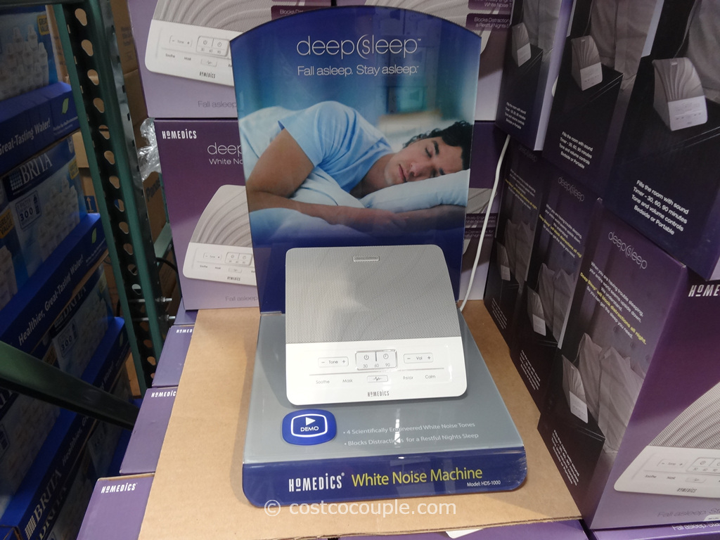 Homedics Deep Sleep Sound Machine Costco 1