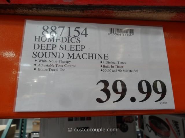 Homedics Deep Sleep Sound Machine Costco 6