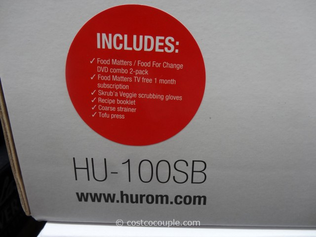 Hurom Slow Juicer Costco 5