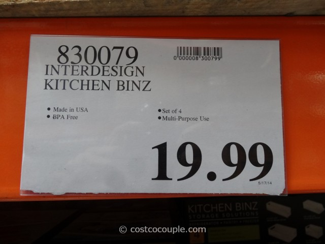 Interdesign Kitchen Binz Costco 2