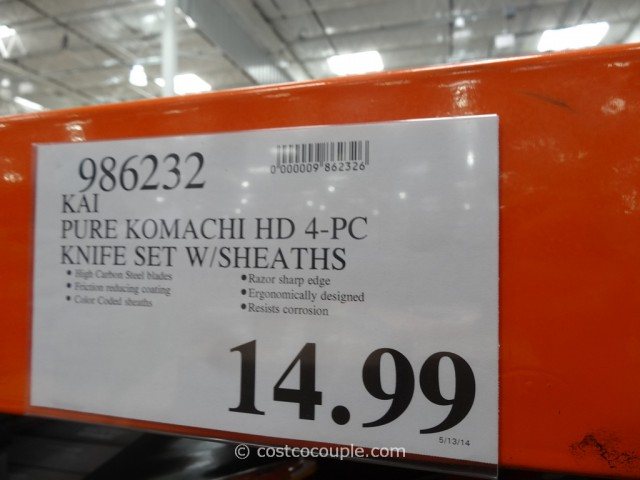 Kai Pure Komachi Knife Set Costco 1