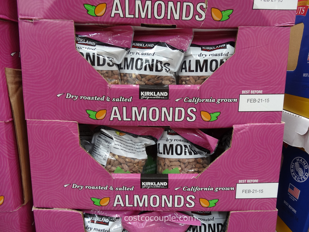 Kirkland Signature Dry Roasted Almonds Costco 1
