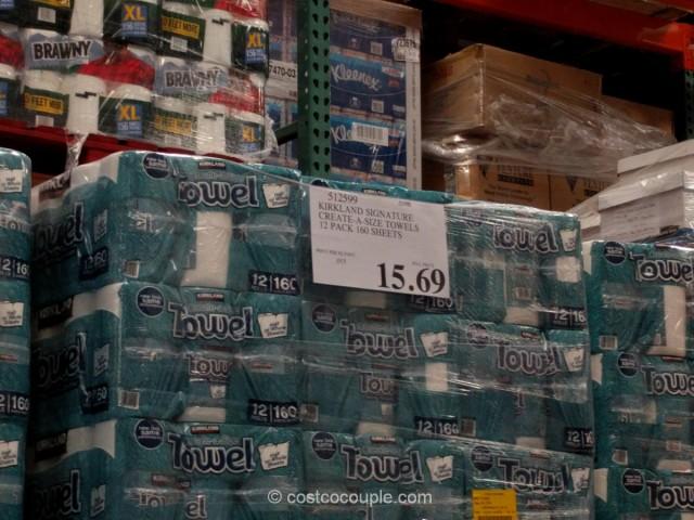 Kirkland Signature Paper Towels Costco 1
