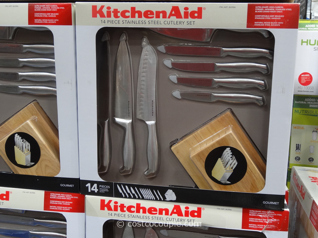 KitchenAid 14-Piece Cutlery Set Costco 2