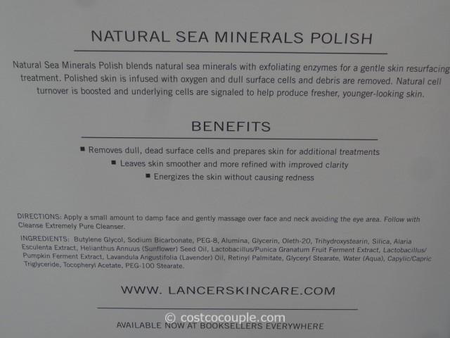 Lancer Skincare Natural Sea Minerals Polish Costco 4