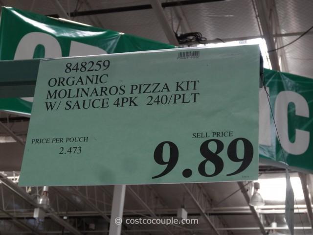 Molinaros Organic Pizza Kit Costco 1