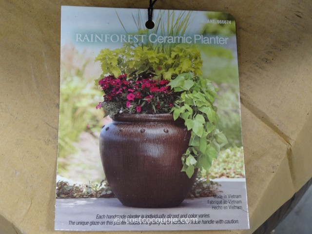Mullally Rainforest Ceramic Planter Costco 5