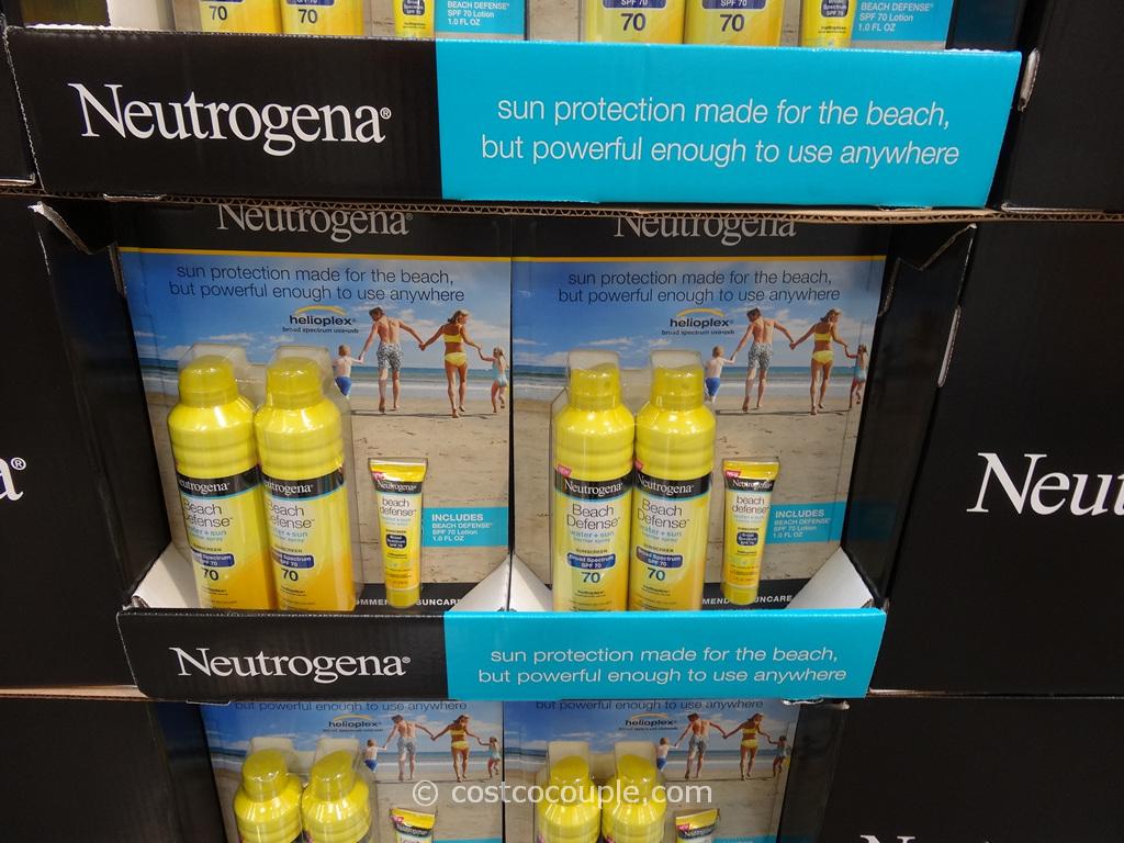Neutrogena Beach Defense Sunscreen Costco 1