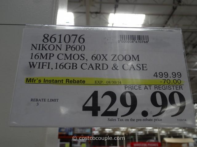 Nikon P600 Camera Costco