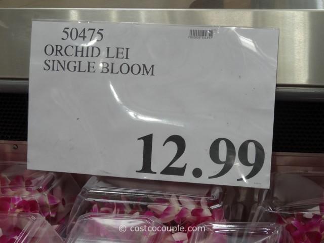 Orchid Lei Costco 1