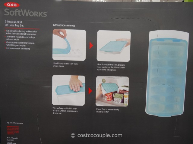 Oxo No-Spill Ice Cube Tray Costco 1