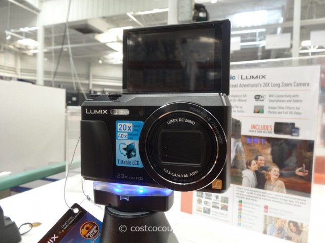 Panasonic Lumix DMC-ZS35 Camera Costco 2
