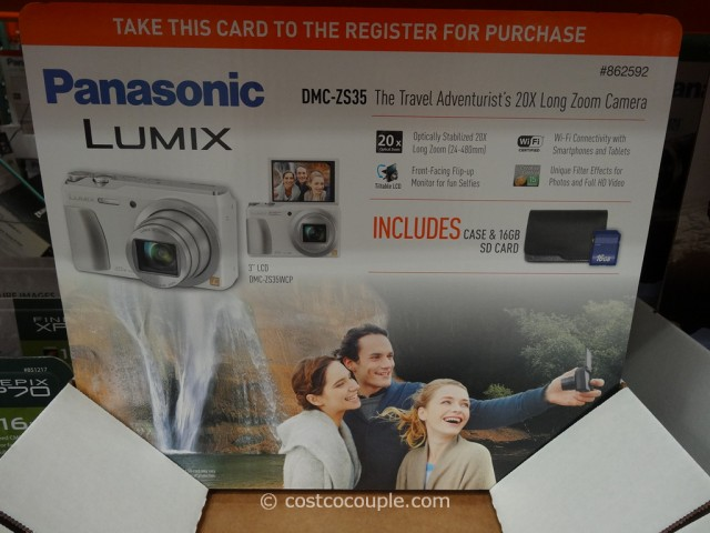 Panasonic Lumix DMC-ZS35 Camera Costco 4