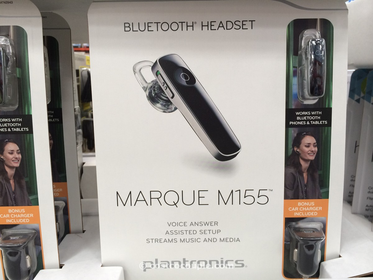 Plantronics M155 Marque Bluetooth Headset Costco 1