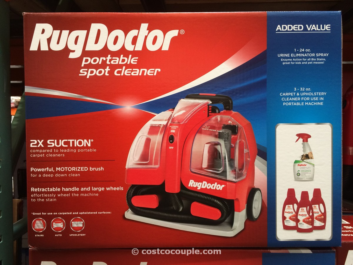 Rug Doctor Portable Spot Cleaner Costco 1