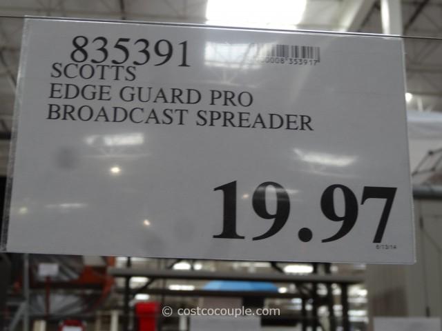 Scotts Edge Guard Pro Broadcast Spreader Costco