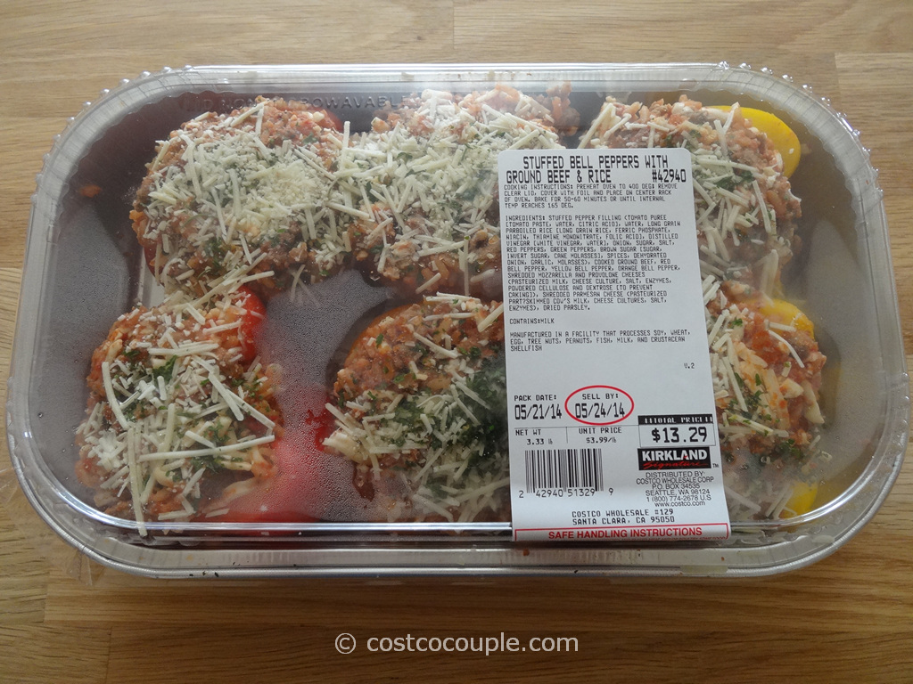 Stuffed Bell Peppers Costco 1