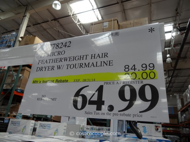 T3 Micro Featherweight Hair Dryer Costco