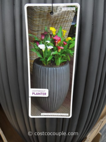 Tasc Fluted Vase Planter Costco 4