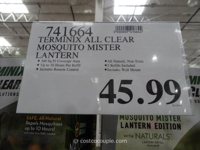 Terminix All Clear Mosquito Mister Lantern Costco 1