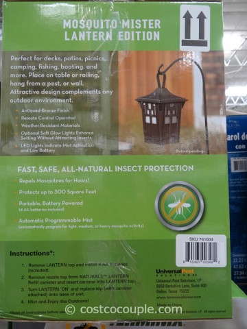 Terminix All Clear Mosquito Mister Lantern Costco 2