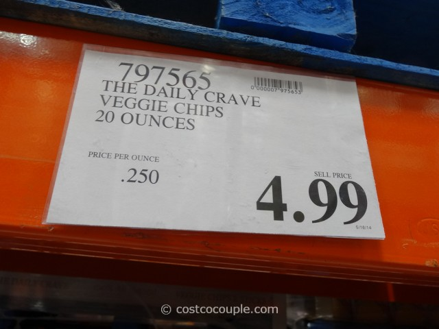 The Daily Crave Veggie Chips Costco 1