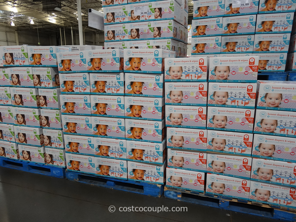 The Honest Company Diapers and Wipes Pack Costco 1