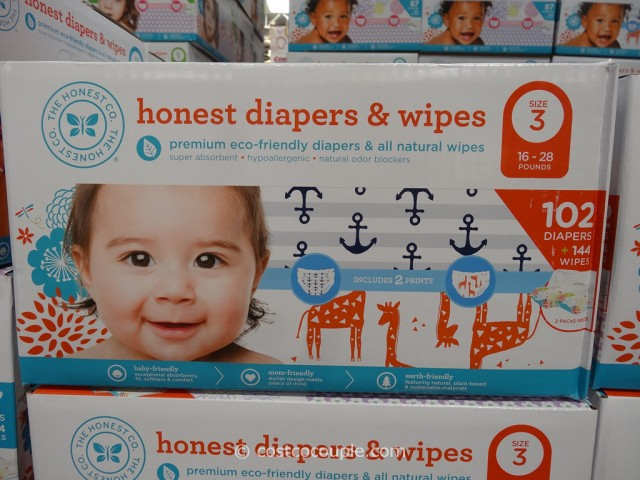 The Honest Company Diapers and Wipes Pack Costco 2