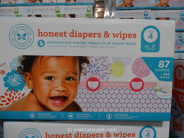 The Honest Company Diapers and Wipes Pack Costco 3