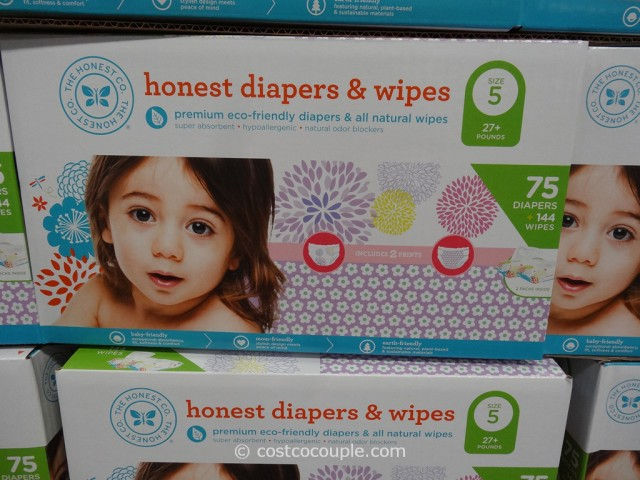 The Honest Company Diapers and Wipes Pack Costco 4