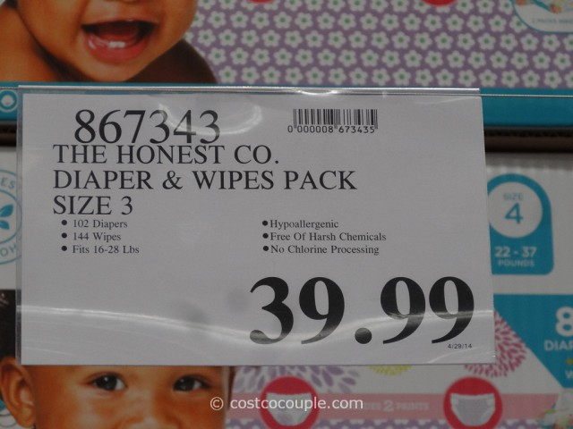 The Honest Company Diapers and Wipes Pack Costco 5