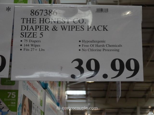 The Honest Company Diapers and Wipes Pack Costco 7