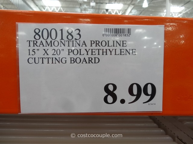 Tramontina Proline Polyethylene Cutting Board Costco 1