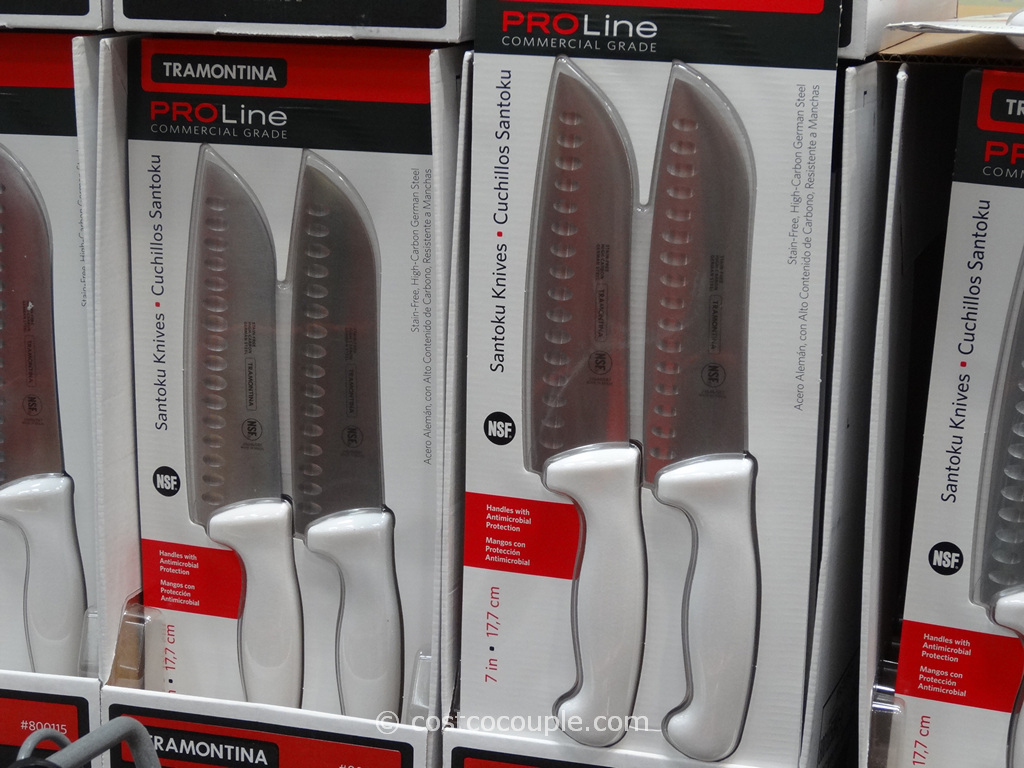 Tramontina Proline Santoku Knife Set Costco 3