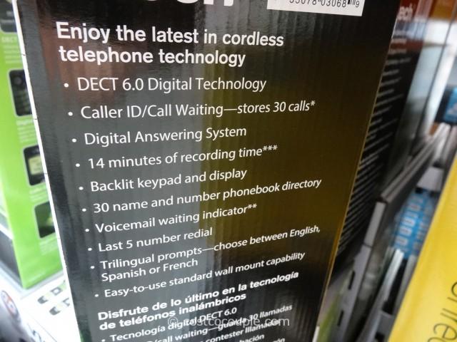 VTech 3 Handset Cordless Phone Costco 3