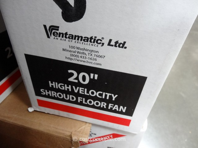 Ventamatic MaxAir High Velocity Fan Costco 4