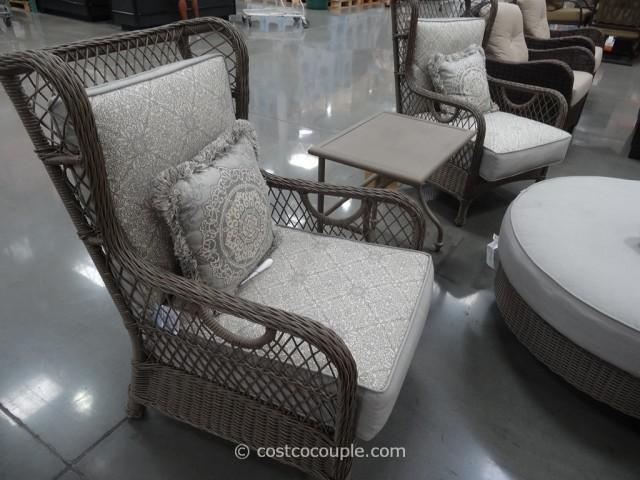 Veranda Classics Versailles Woven Seating Group Costco 3