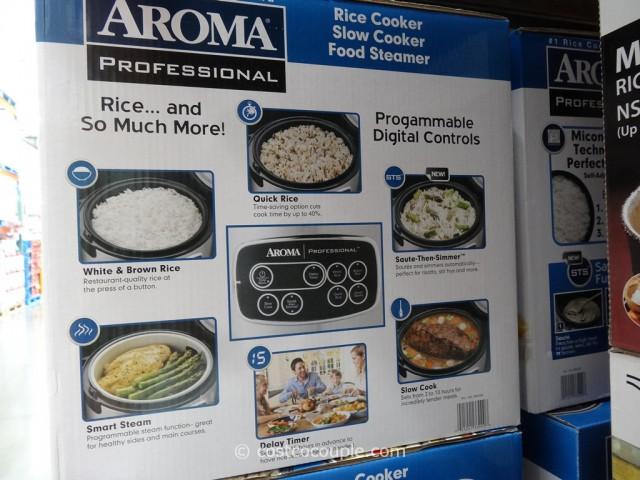 Aroma Rice Slow Cooker Costco 2