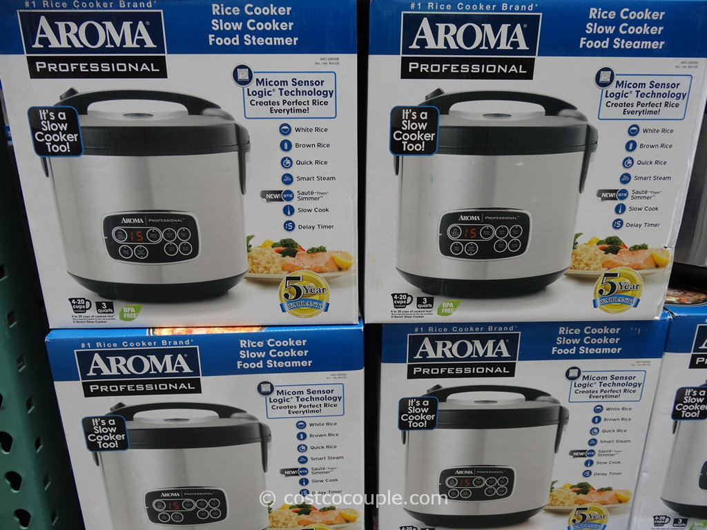Aroma Rice Slow Cooker Costco 3