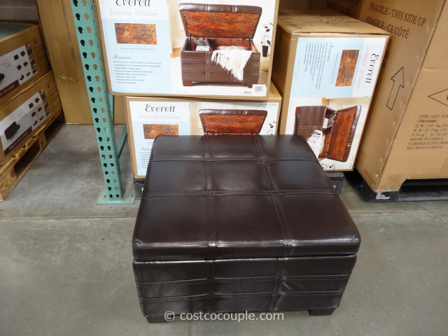 Ave Six Everett Storage Ottoman Costco 1