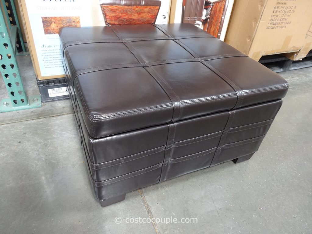 Ave Six Everett Storage Ottoman Costco 3