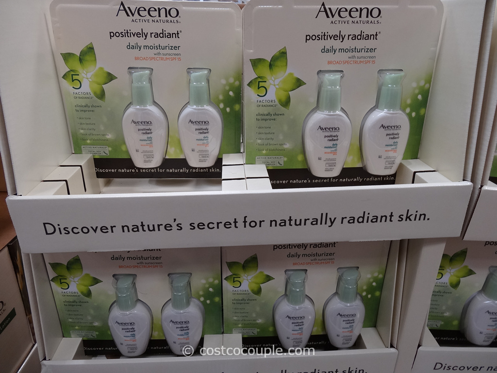 Aveeno Positively Radiant Daily Moisturizer Costco 1