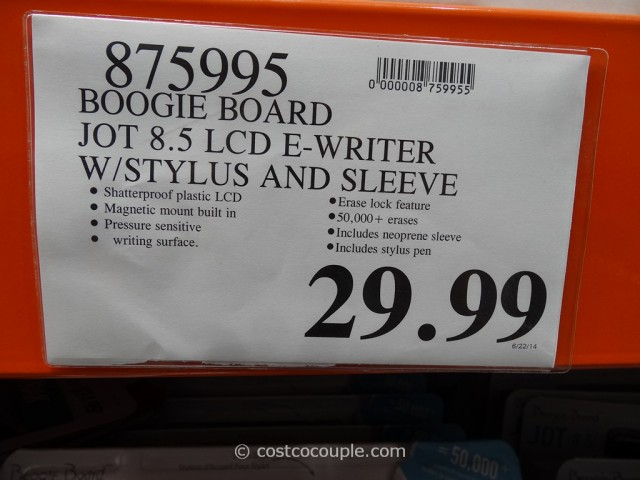 Boogie Board LCD E-Writer Costco 1