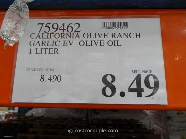 California Olive Ranch Roasted Garlic Oil Costco 2