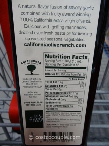 California Olive Ranch Roasted Garlic Oil Costco 3