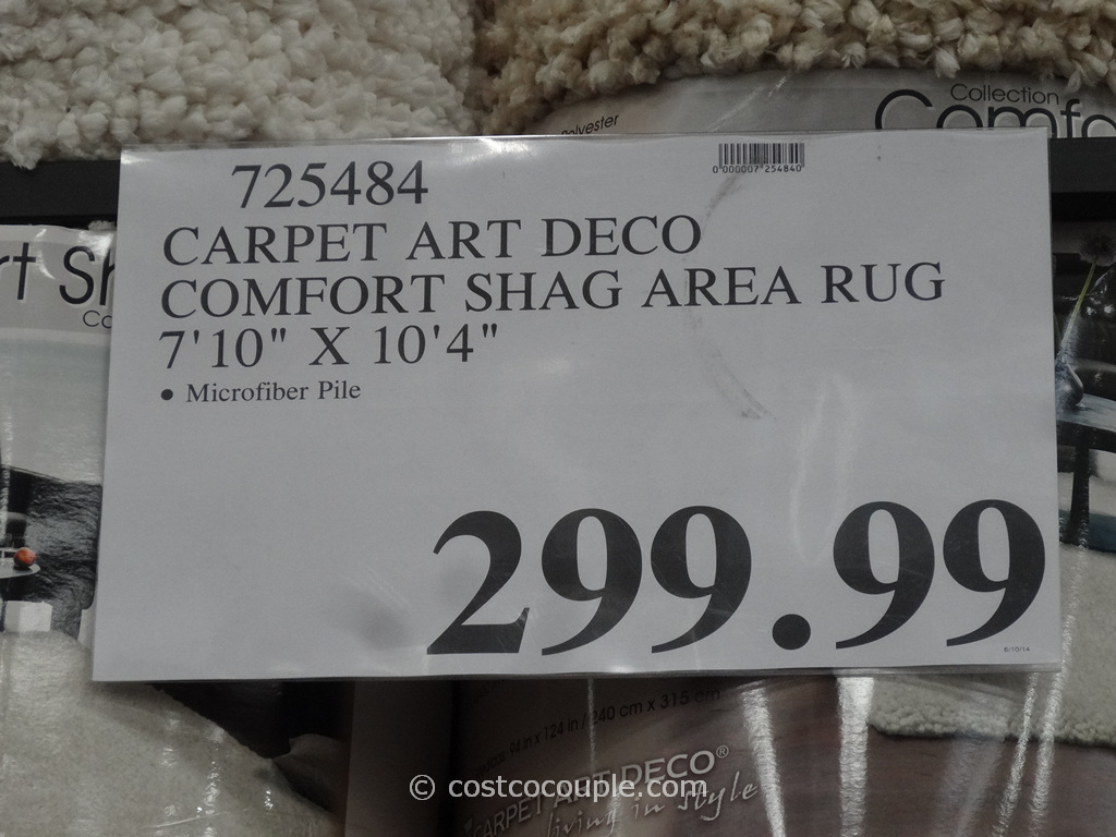 Carpet Art Deco Comfort Shag Rug 7 10 X 10 4